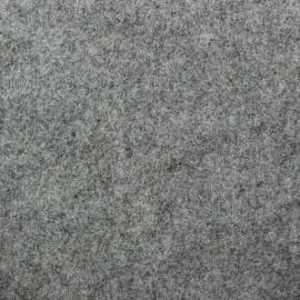Tissu Feutrine épaisse gris chiné x 10cm