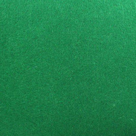 Thick Felt Fabric - Meadow Green x 10cm