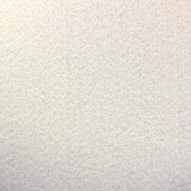 Thick Felt Fabric - white x 10cm