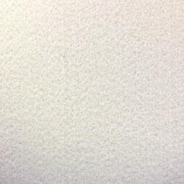 Tissu Feutrine épaisse blanc x 10cm