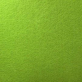 Thick Felt Fabric - Almand Green x 10cm