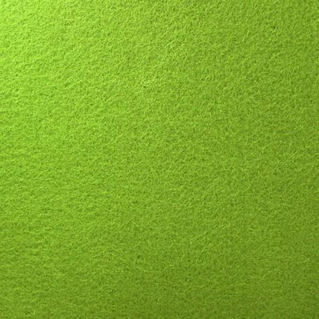 Tissu Feutrine épaisse vert amande x 10cm