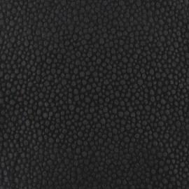 Tissu Gaufré Small Stones noir x 10cm