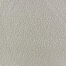 Tissu Gaufré Small Stones taupe clair x 10cm