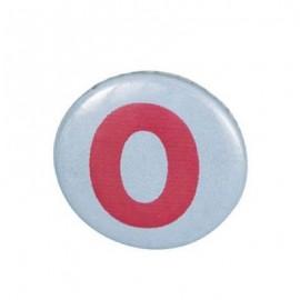 badge chiffre 0