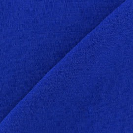 Crinkled Viscose Fabric - Navy x 10cm