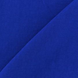 Tissu viscose navy x10cm