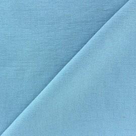 Tissu viscose ciel x10cm