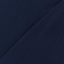 Tissu jersey viscose léger pailleté bleu nuit x 10cm