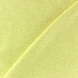 Light Sequined Viscose Jersey Fabric - Straw Yellow x 10cm