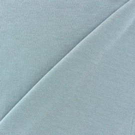 Light Sequined Viscose Jersey Fabric - Pearl Grey x 10cm