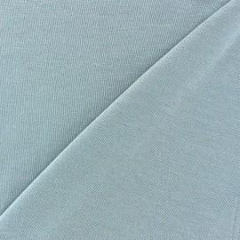 Tissu jersey viscose léger pailleté gris perle x 10cm