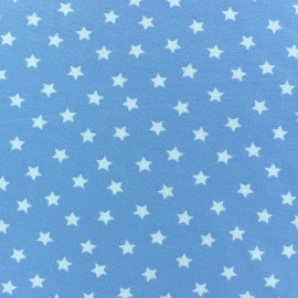 Magic Stars Jersey Fabric - Sky x 10cm