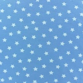 Tissu jersey étoile Magic ciel x 10cm