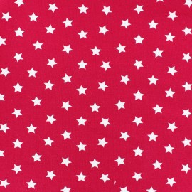 Magic Stars Jersey Fabric - Fuchsia x 10cm