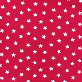 Tissu jersey étoile Magic fuchsia x 10cm