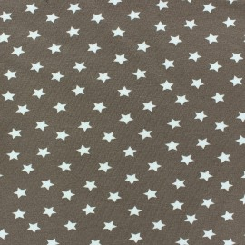 Magic Stars Jersey Fabric - Taupe x 10cm