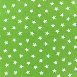 Magic Stars Jersey Fabric - Lime x 10cm