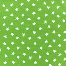 Tissu jersey étoile Magic anis x 10cm