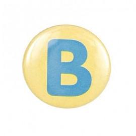 Badge alphabet B