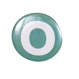 Badge alphabet O