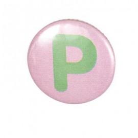 Badge alphabet P