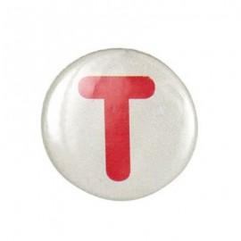 Badge alphabet T