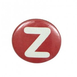 Badge alphabet Z