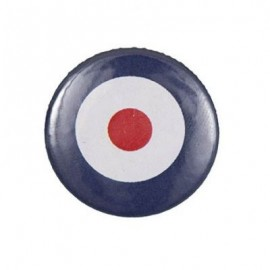Badge rond motif cocarde