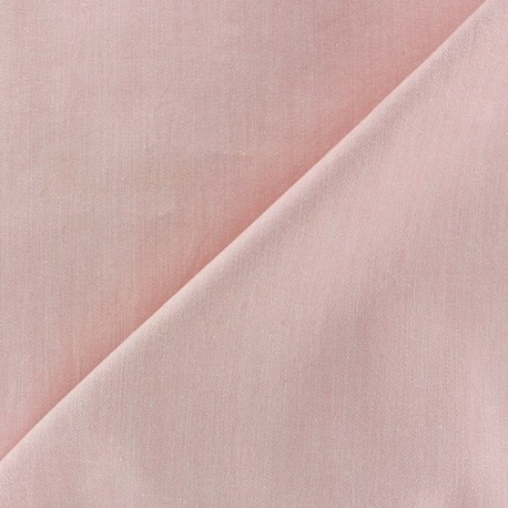 Color jeans fabric - pink x 10cm