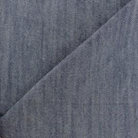 Color jeans fabric - navy x 10cm