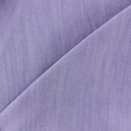Color jeans fabric - mauve x 10cm