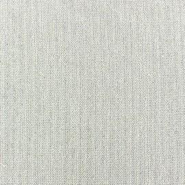Tissu lin lurex Scarlet écru x 10cm