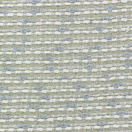 Lurex linen fabric - Brunelle yellow x 10cm