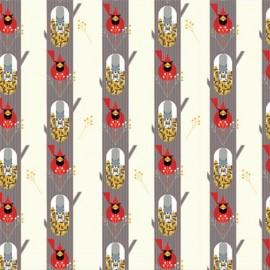 ♥ Coupon de tissu 70 cm X 110 cm ♥ Tissu Coton October Edibles