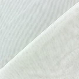 Tulle souple blanc au mètre