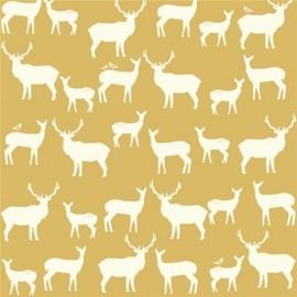 Tissu Jersey Elk Farm Sun x 10 cm
