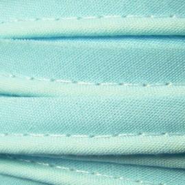 Passepoil tout textile bleu clair