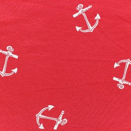 Anchor Jersey -  red x10cm