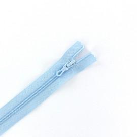 fermeture Eclair® non séparable - bleu azur