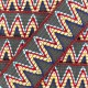 Elastic braid trimming ribbon, Incas x 50cm - grey