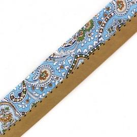 """Trousers Ribbon Belt  """"Alice"""" x 10cm - sky blue"""