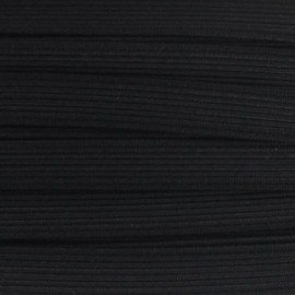Woven Flat elastic 11 mm - black