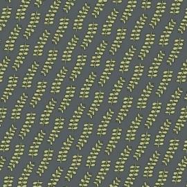 Tissu Succulents - D gris x 10cm