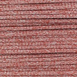 Cordon Maillot de Bain Shiny - Rouge  x 1m