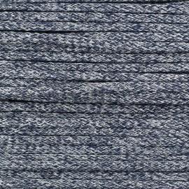 Cordon Maillot de Bain Shiny - Marine x 1m