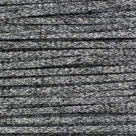 Cordon Maillot de Bain Shiny - Noir  x 1m