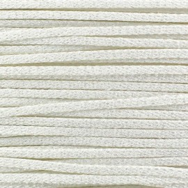 Cordon Maillot de Bain Shiny - Blanc  x 1m