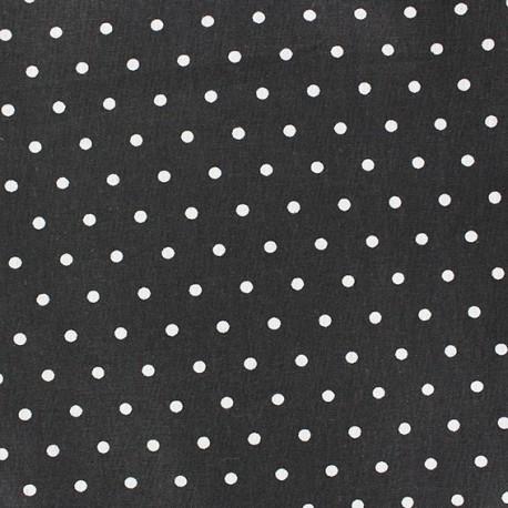 Cotton cloth Fabric Drop - black x 10cm