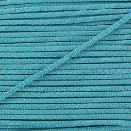 Lurex Cord 3mm - turquoise